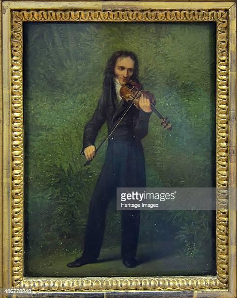 Portrait of Niccolò Paganini 18301831 Artist Kersting Georg Friedrich