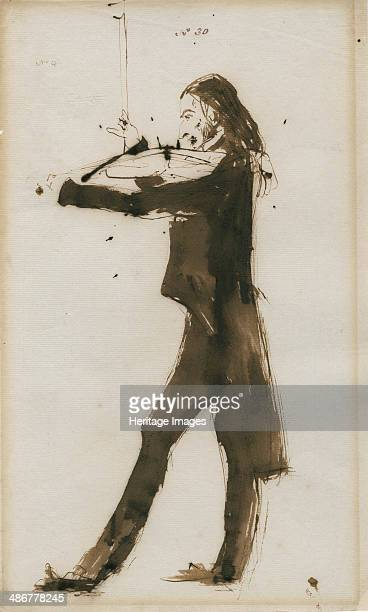 Portrait of Niccolò Paganini 1831 Artist Landseer Sir Edwin Henry