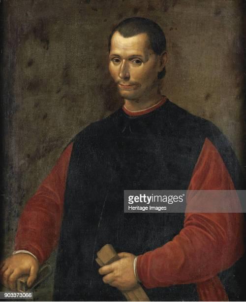 Portrait of Niccolo Machiavelli Private Collection
