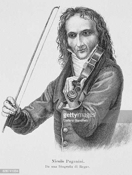 Portrait of Niccolo Paganini