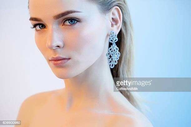 Portrait of nice looking woman