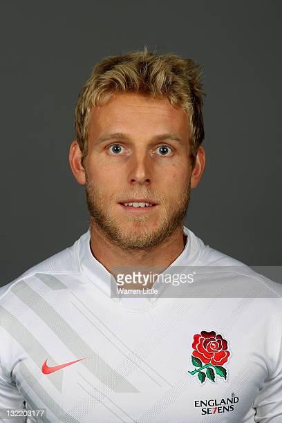A portrait of Nick Royle of the England Sevens Team at The Lensbury Club on November 8 2011 in Teddington England