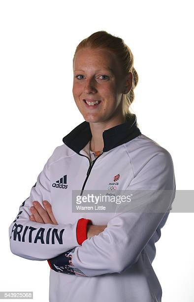 A portrait of Nicola White a member of the Great Britain Olympic team during the Team GB Kitting Out ahead of Rio 2016 Olympic Games on June 30 2016...