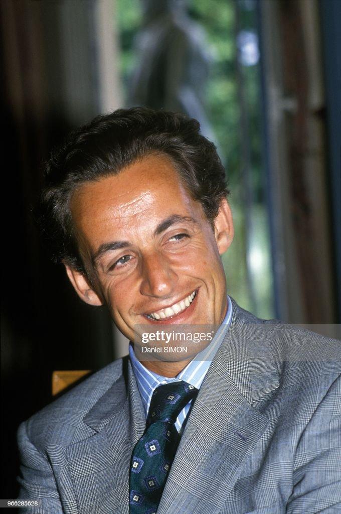 Portrait Of Nicolas Sarkozy Paris August 16 1990 News Photo Getty Images