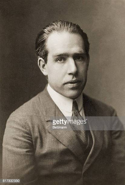 Portrait of Niels Bohr , Danish physicist. Proposed a theory of atomic structure based on Planck's quantum theory, and was awarded the 1922 Nobel...