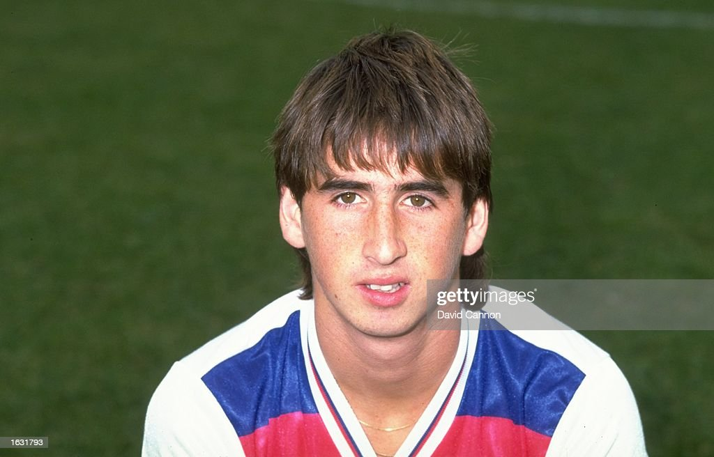 Nigel Callaghan of England U21 : News Photo