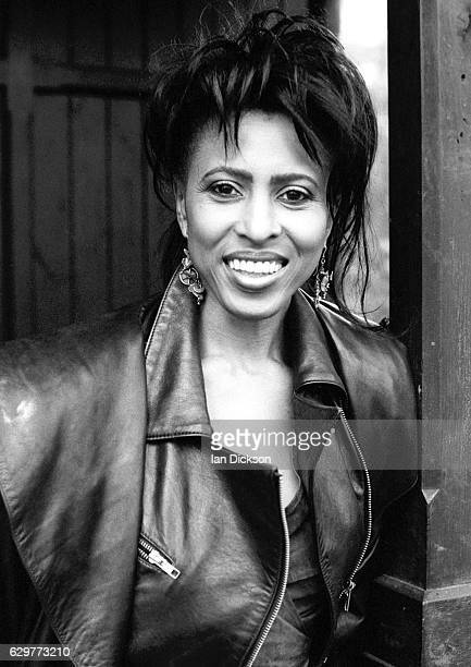 Portrait of Nona Hendryx taken for Black Echoes music paper London 1984