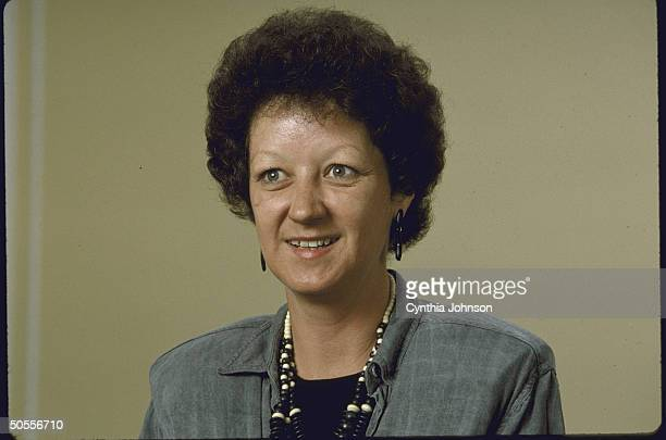 Portrait of Norma McCorvey after she admitted she had not been gang raped when she sought an abortion in 1970