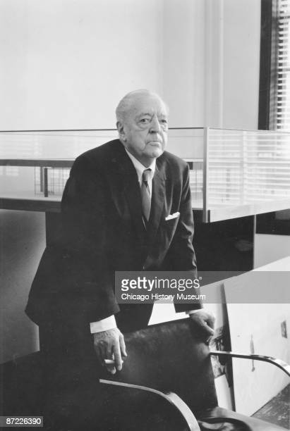 ludwig mies van der rohe stock photos and pictures getty images. Black Bedroom Furniture Sets. Home Design Ideas