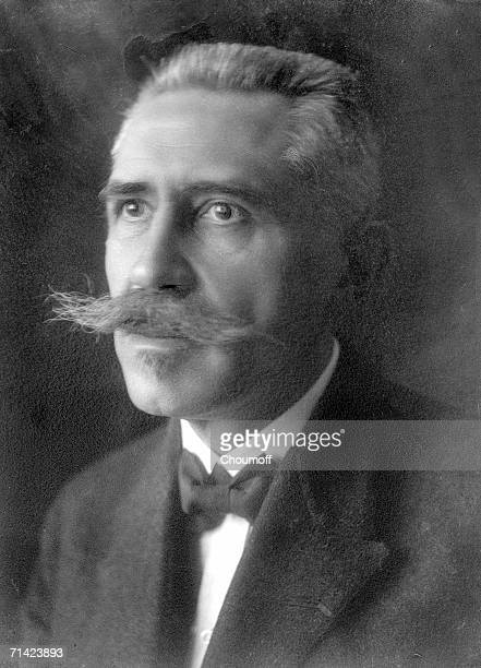 Portrait of noted French physicist Paul Langevin 1920s Langevin was a close associate of the Curies
