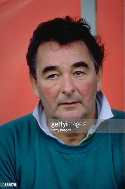 Portrait of Nottingham Forest Manager Brian Clough Mandatory Credit Allsport UK /Allsport
