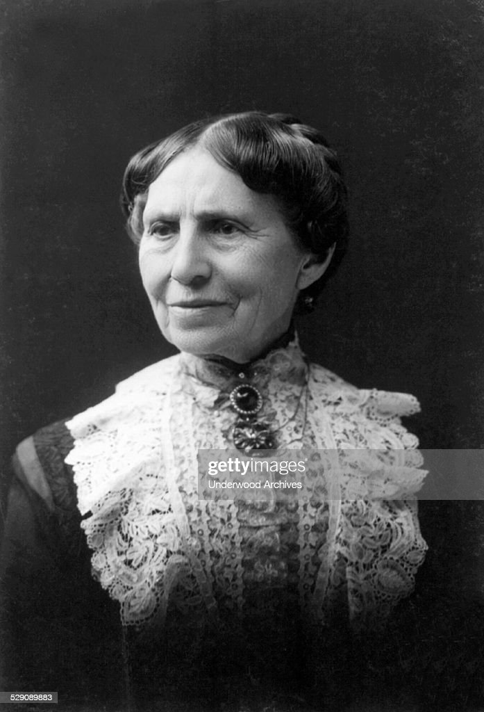 Portrait of nurse, educator and founder of the American Red cross, Clara Barton, Boston, Massachusetts, 1904.