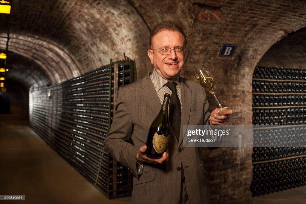 Portrait Of Richard Geoffroy : News Photo
