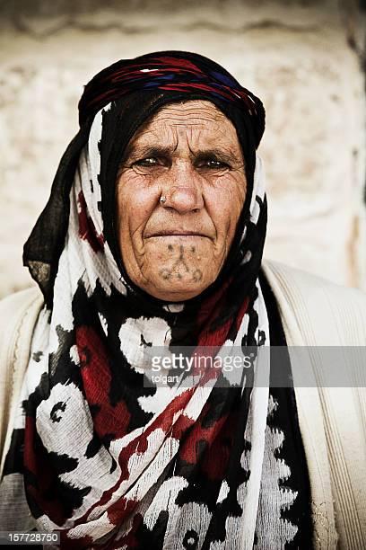 Portrait of old women