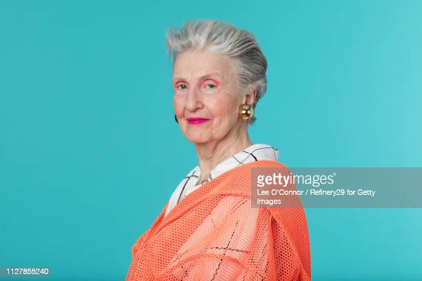 Portrait of Older Confident Woman