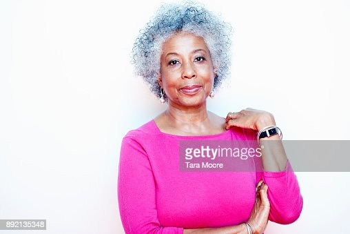 portrait of older woman