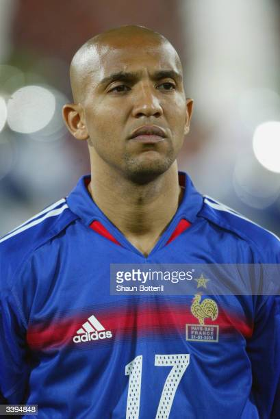 Portrait of Olivier Dacourt of France taken before the International Friendly match between Holland and France held on March 31 2004 at the Feyenoord...
