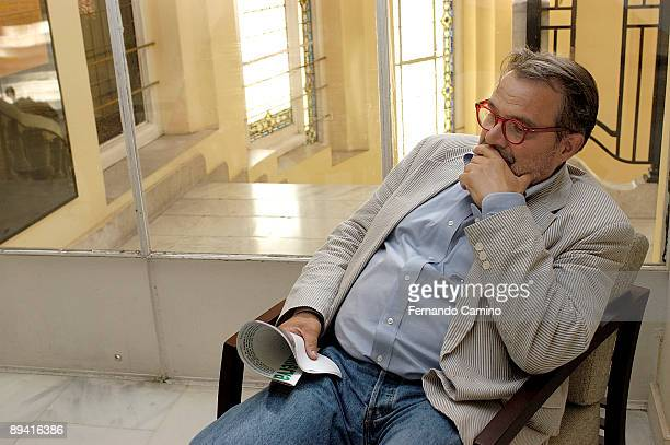 Portrait of Oliviero Toscani photographer