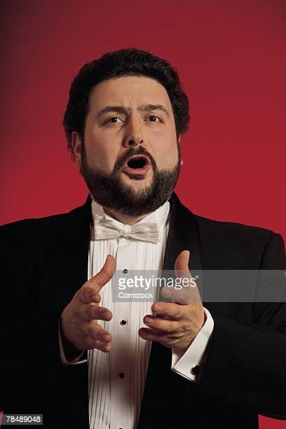 Portrait of opera singer