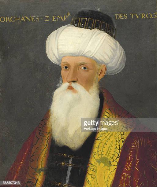 Portrait of Orhan I Sultan of the Ottoman Empire Early 19th cen Private Collection