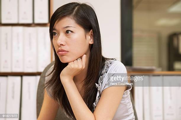 Portrait of oriental businesswoman