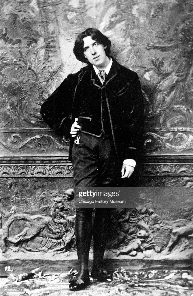 Portrait of Oscar Wilde : News Photo