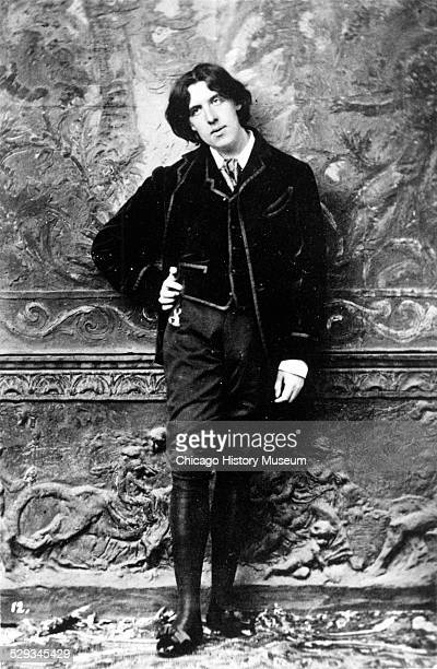 Portrait of Oscar Wilde circa 1881