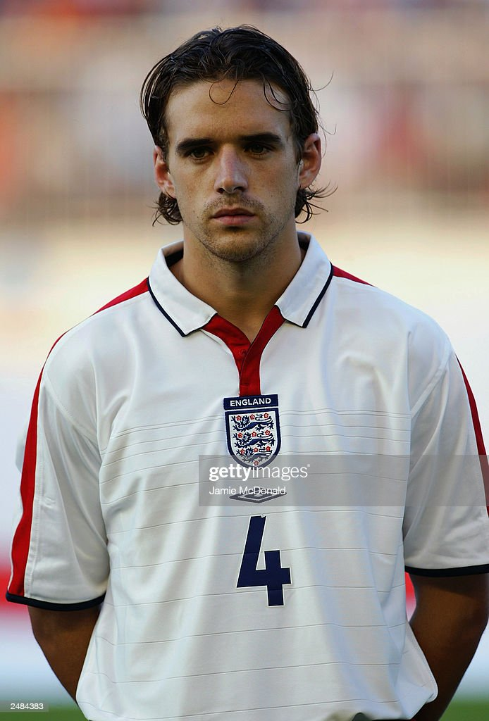 A portrait of owen hargreaves of england during the team line up a portrait of owen hargreaves of england during the team line up the euro 2004 altavistaventures Images