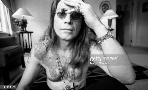 Portrait of Ozzy Osbourne London 1991