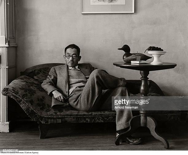 Portrait of painter Yasuo Kuniyoshi September 6 1941 in New York City