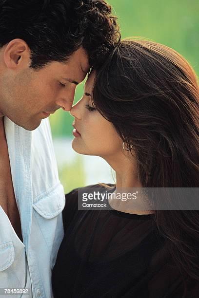 Portrait of passionate couple