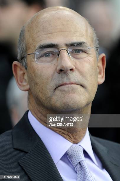 Portrait of Patrick Kron CEO of Alstom during the inauguration of the most powerful offshore wind turbine Haliade 150 with 6MW power the first new...