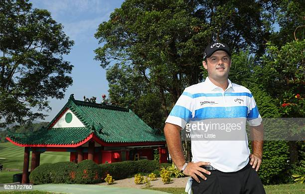Portrait of Patrick Reed of the USA during the pro-am ahead of the UBS Hong Kong Open at The Hong Kong Golf Club on December 7, 2016 in Hong Kong,...