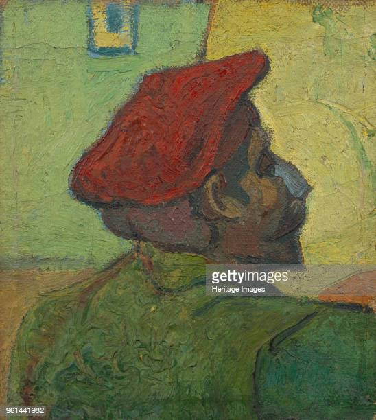 Portrait of Paul Gauguin , 1888. Found in the Collection of Van Gogh Museum, Amsterdam.