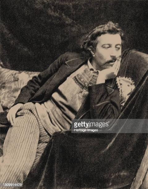 Portrait of Paul Gauguin , 1891. Private Collection. Artist Boutet de Monvel, Maurice . .
