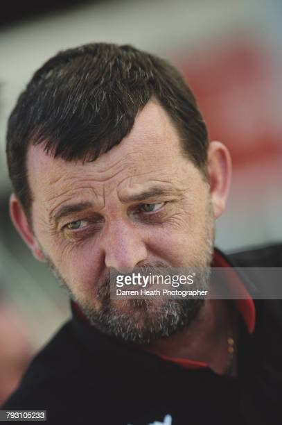 A portrait of Paul Stoddart team principal for the Minardi Cosworth F1 Grand Prix team during practice for the Formula One Australian Grand Prix on 5...