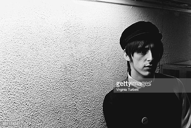 Portrait of Paul Weller of The Jam at Polygram Studios London 18 February 1982