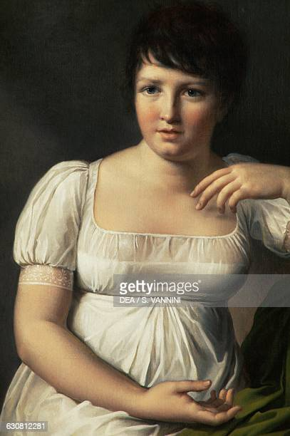 Portrait of Pauline Borghese by Louise MarieJeanne Mauduit France 19th century Durham Barnard Bowes Castle