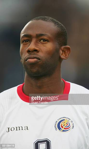 A portrait of Paulo Wanchope of Costa Rica prior to the International Friendly match between Norway and Costa Rica at The Ullevaal Stadium on May 24...