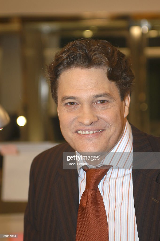 Portrait of Pedro Mari Sanchez, actor. : News Photo