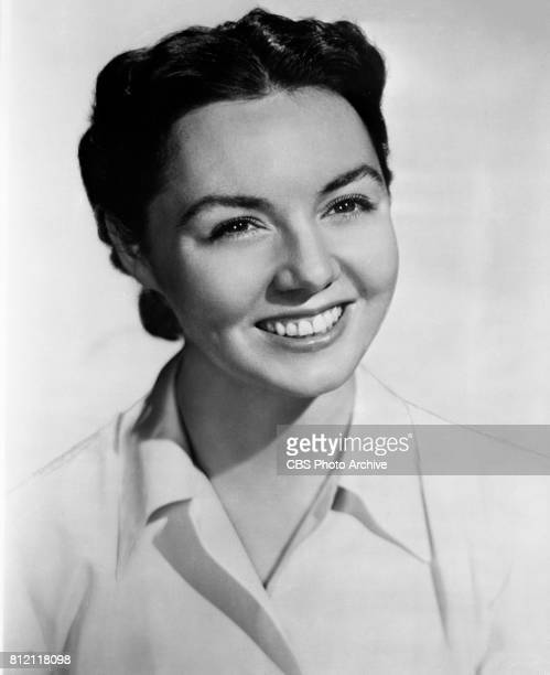 Portrait of Peggy McCay She portrays Vanessa Dale on the CBS television soap opera Love of Life September 21 1951 New York NY