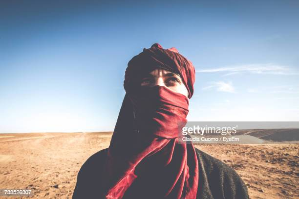 portrait of person in desert - cuomo stock pictures, royalty-free photos & images