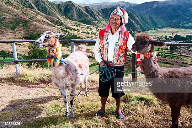 Portrait of Peruvian man near Pisac, Sacred Valley, Peru