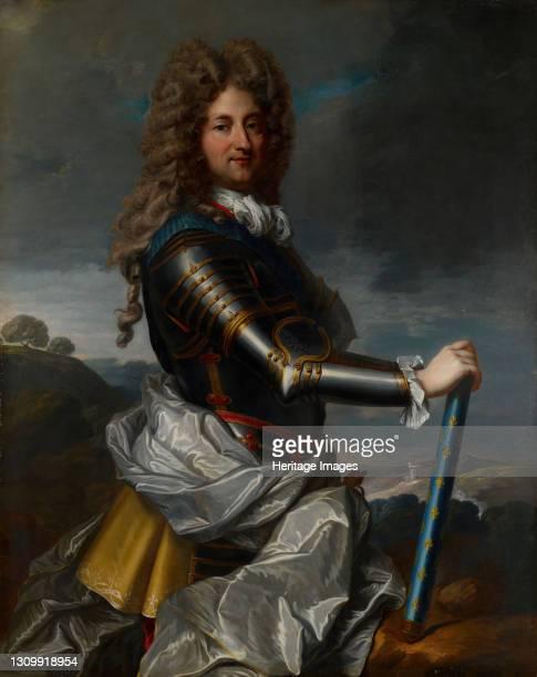 Portrait of Philippe Duc d'Orleans , 1710-1717. Artist Jean-Baptiste Santerre. .