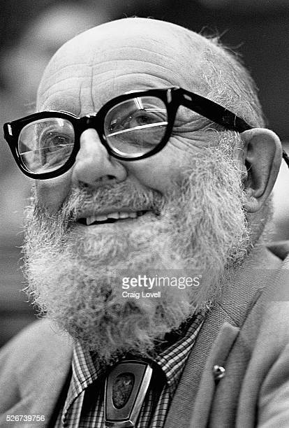 A portrait of photographer Ansel Adams