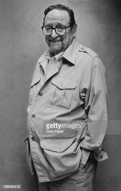 Portrait of photographer Arnold Newman New York New York 2000