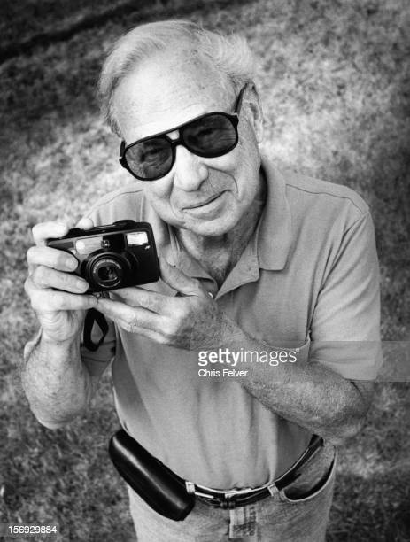 Portrait of photographer Fred W McDarrah New York New York 1995