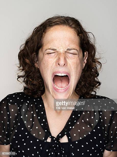 portrait of  - mouth open stock pictures, royalty-free photos & images