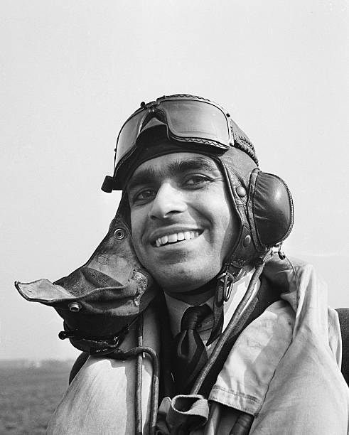 An Indian Air Force pilot from Punjab in England
