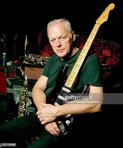 Portrait of Pink Floyd guitarist David Gilmour United Kingdom circa 2010